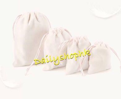 全新絨布首飾收納束口袋