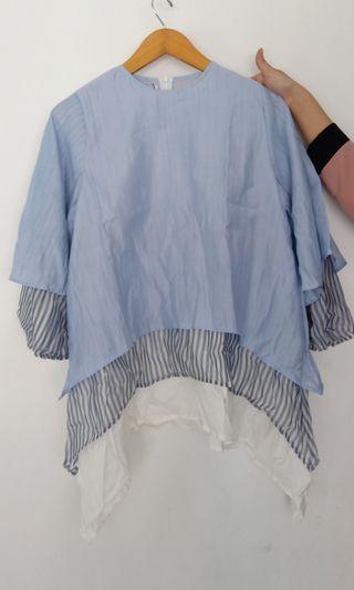 Yuri top (light blue)