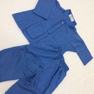 Baju Melayu Baby Biru