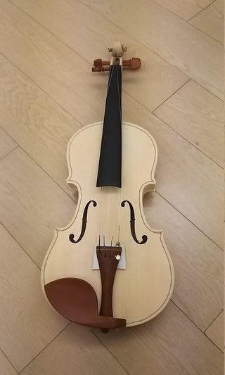 全新四分四白环小提琴