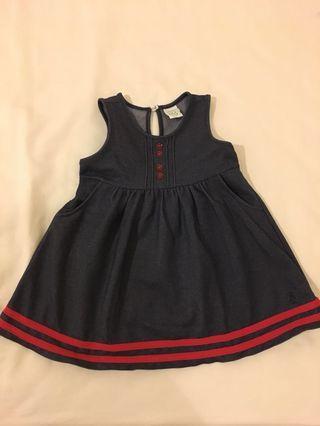 Toddler denim dress 18-24mths
