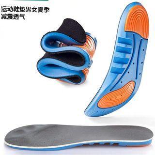 运动鞋垫男女夏季减震透气吸汗硅胶气垫加厚篮球鞋跑步弹力防臭软