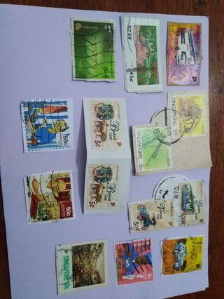 S'pore old stamps
