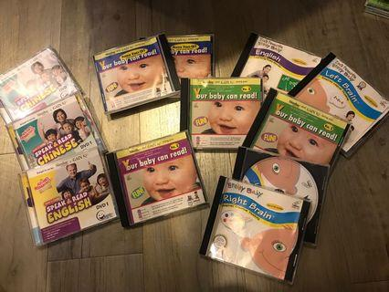 Pre-loved VCD - educational for babies n toddlers