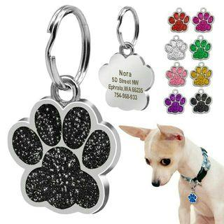 [Pre-Order] Dog ID Tag Personalized