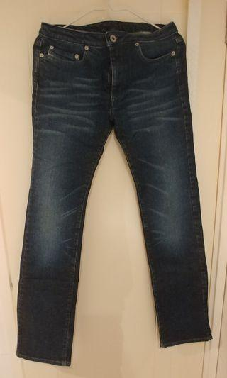 Diesel 牛仔褲 size 26 made in Itlay