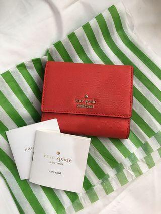 Dompet Wallet Trifold Kate Spade