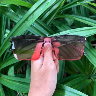 Bazzi Sunglasses (Ombre Red)