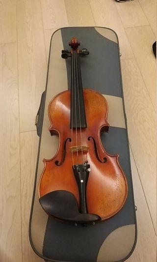 4/4 全新仿琴小提琴