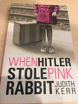 🚚 When Hitler Stole Pink Rabbit- Judith Kerr