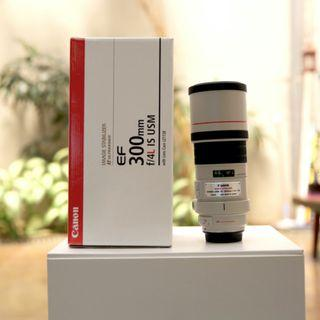CANON EF 300mm F/4L IS USM PERFECT CONDITION!