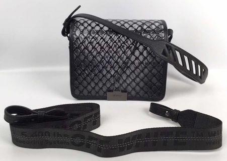 Offwhite 2019SS Cross Body Bag 透明 斜咩側咩袋!$3788
