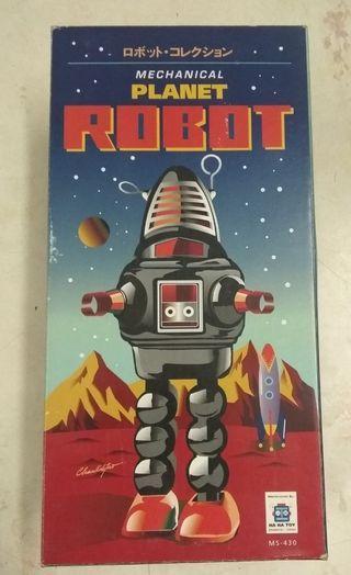 懷舊收藏 90年代 TinToys 鐵皮玩具 機械人