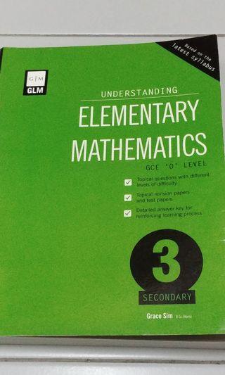 🚚 Secondary 3 mathematics assessment book understanding elementary mathematics