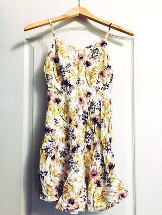 Floral Summer Dress XS