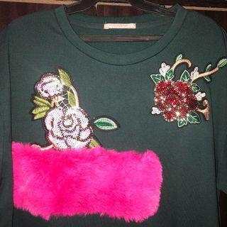 Zara Trafaluc Oversized top