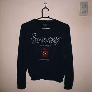 Favori Cheerleading Team Spice Blue Sweater