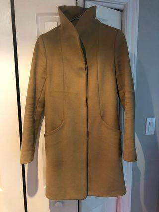 Aritzia Wilfred Cocoon Coat XS