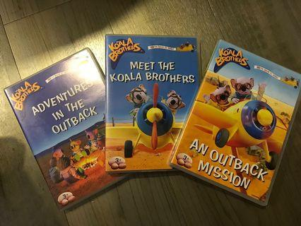 Pre-loved DVD - Koala Brothers