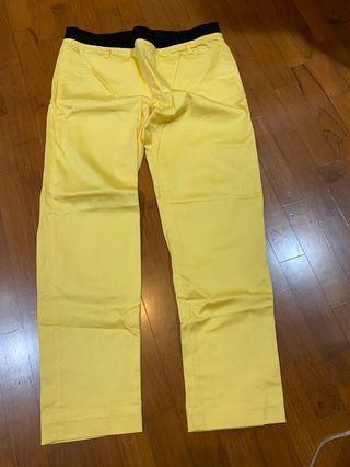 Pants in sweet yellow