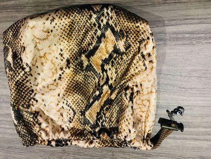 Snake Print pouch