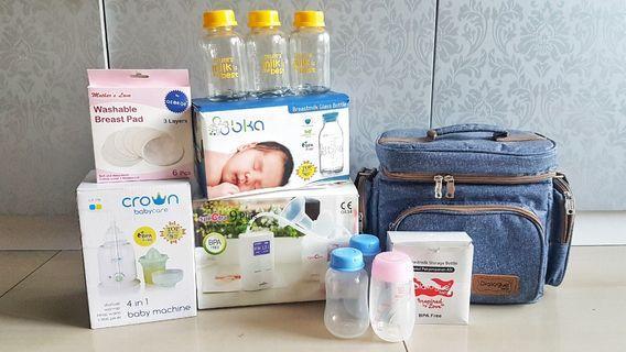 Paket Pompa Asi - Breastpump Spectra 9 Plus Murah