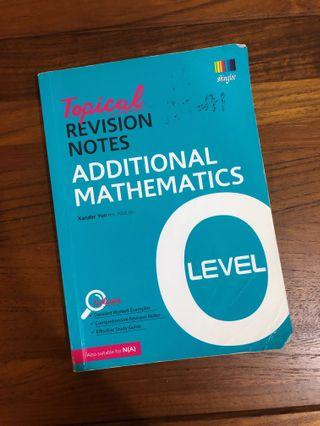 🚚 shinglee Additional A Mathematics topical revision notes for O levels
