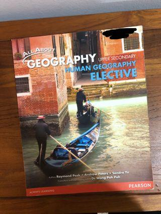 🚚 All about geography upper secondary human elective