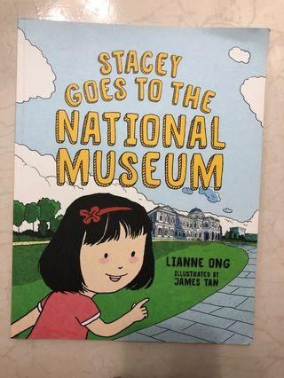 Stacy goes to the National Museum