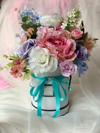 Artificial flower (blooming box )