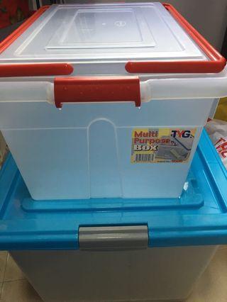 Multi purpose storage box
