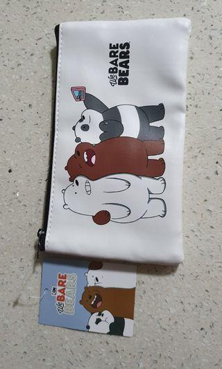 🚚 BNWT Original We Bare Bears Multipurpose Pouch