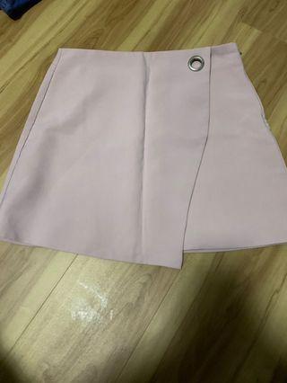 Pink formal skirt