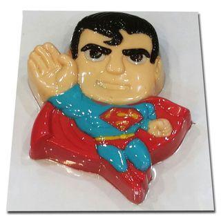 "8.5"" Superman Agar Jelly Cake"