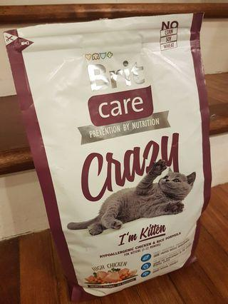 NEWLY OPENED Cat Food 2kg