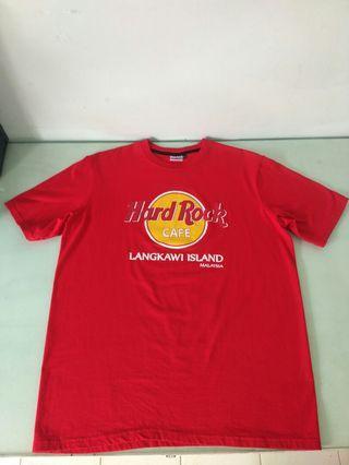 Kaos hardrock cafe Langkawi island Malaysia
