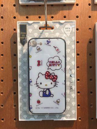 Iphone 玻璃手機殼 i7~iX 全新手機殼 蘋果手機殼 apple 保護殼 hello kitty