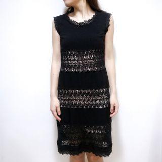 【2hand】People to People black dress 黑色連身裙