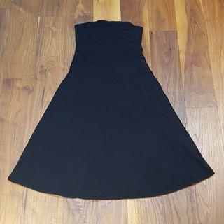 Lululemon Strapless Black Cotton Dress - Size 4
