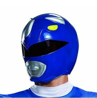 Disguise Men's Blue Ranger Adult Helmet
