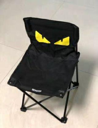 Outdoor leisure camping folding fishing/camping chair (little Monster eye)