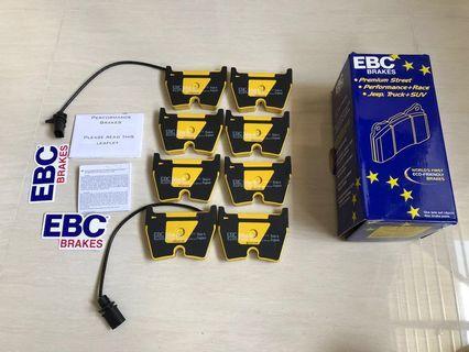 EBC DP41513R YELLOWSTUFF BRAKEPAD AUDI RS6 R8 RS5 8T 8K LAMBORGHINI 8 POT BRAKE PAD