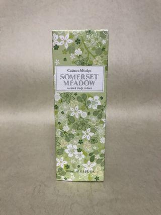 全新 Crabtree & Evelyn Somerset Meadow Body Lotion
