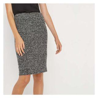 Knit Speckled Skirt - body con
