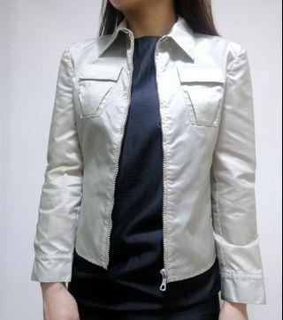 【2hand】Miu Miu zip up jacket 薄外套