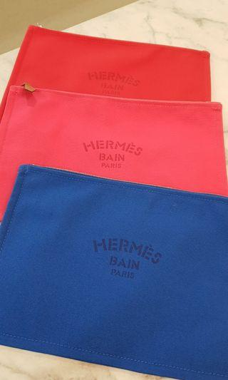 🚚 Hermes Voyage Pouches GM