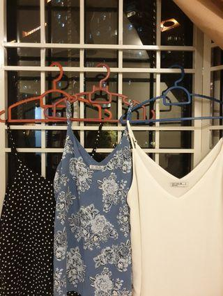 Cotton On Sleeveless Blouse (RM35 for 3)