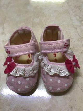 Baby Girl First Shoes