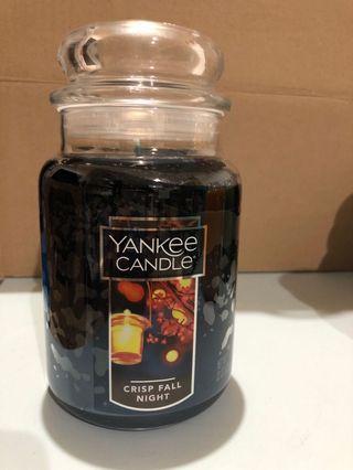 Yankee Candle Large Jar - Crisp Fall Night