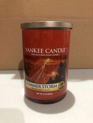 Yankee Candle Large Two-Wick Tumbler - Summer Storm